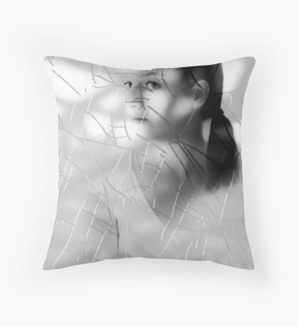 FRAGILE...HANDLE WITH CARE Throw Pillow