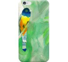 Watercolor Tropical Bird iPhone Case/Skin