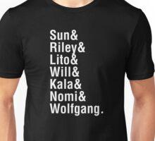 Helvetica8 Unisex T-Shirt