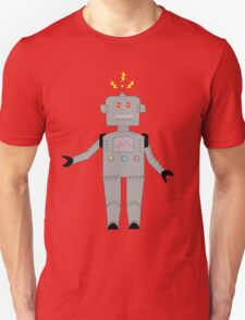 confused robot : big Unisex T-Shirt