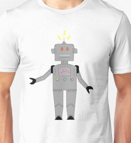 confused robot : big Unisex T-Shirt
