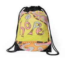 All We Need Is Hope Drawstring Bag