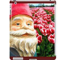 Sugared Flowers Gnome II iPad Case/Skin