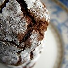 Chocolate crinkle cookies by Tracy Friesen