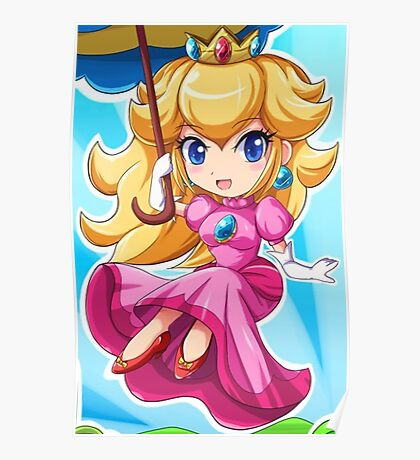 Princess Peach Poster