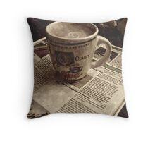 Nespresso....Hmmmmm. Throw Pillow