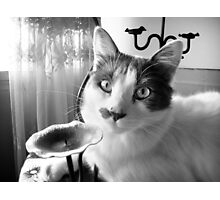 Wazzup dude? Photographic Print