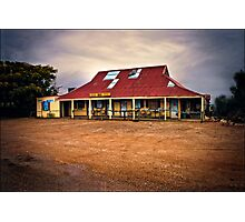 hebel hotel, outback queensland Photographic Print