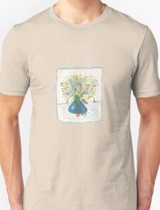 Blue Drop Vase Tee T-Shirt