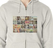 Postcard from Melbourne, Australia Zipped Hoodie