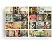 Postcard from Melbourne, Australia Canvas Print