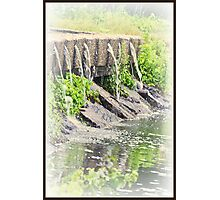 Spouted Cement Photographic Print