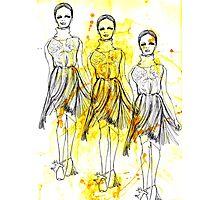 Fashion Triptych Photographic Print