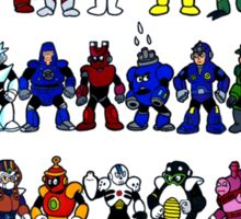 Megaman Bosses Sticker