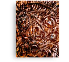 ancient mask Canvas Print