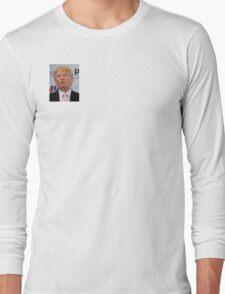 Donald Trump Model Shot Long Sleeve T-Shirt