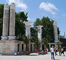 Roman ruins, Primorski Park, Varna, Bulgaria by Margaret  Hyde