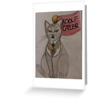 Adolf Catler Greeting Card