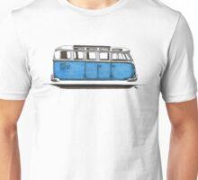 Future Bus-blue Unisex T-Shirt