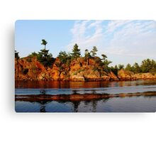 Ox Bay - French River  Canvas Print