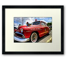 Serve & Protect Framed Print