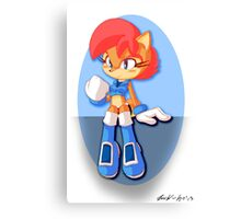 Sally Acorn (Adowable Version) Canvas Print