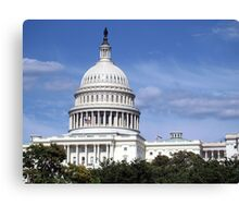 U.S. Capital Canvas Print