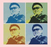 Kim Jong Il Warhol by scramble45