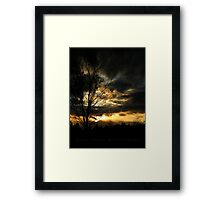 Storm's End Framed Print