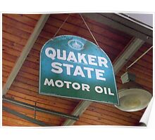 Quaker State Poster