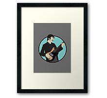 The Band: Rick Danko Framed Print