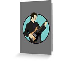 The Band: Rick Danko Greeting Card