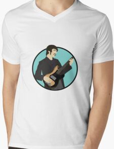 The Band: Rick Danko Mens V-Neck T-Shirt
