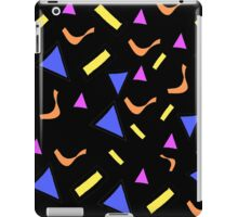 Retro Shapes Pattern iPad Case/Skin