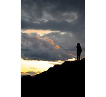 Sunset Atop the Volcano Photographic Print