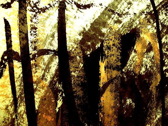 aki light..... gold rays by banrai
