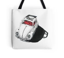 VW shadow w/ RED interior Tote Bag