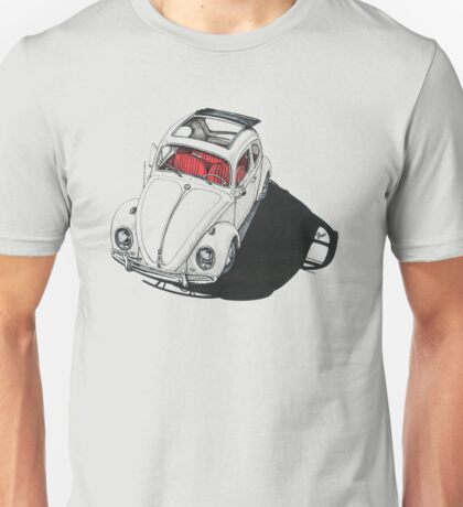 VW shadow w/ RED interior Unisex T-Shirt
