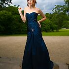 Girl in Blue Dress by Robert Drobek