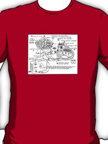 Portable Tape Recorder (from the Vintage Magazine series) T-Shirt