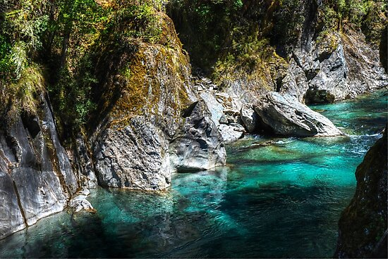 0665 Turquoise Waters by DavidsArt