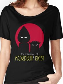 The Adventures of Mordecai & Rigby Women's Relaxed Fit T-Shirt