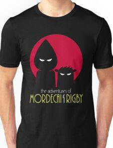 The Adventures of Mordecai & Rigby Unisex T-Shirt
