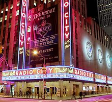 Radio City Music Hall by Anthony Martinez