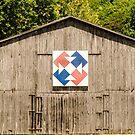 Kentucky Barn Quilt - Capital T by Mary Carol Story