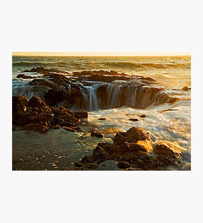 Thor's Well Photographic Print