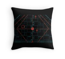 Target Locked Throw Pillow