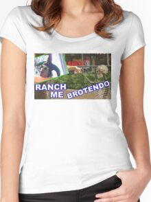 RANCH ME BROTENDO Women's Fitted Scoop T-Shirt