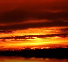 Sunset after summer storms... by Terri~Lynn Bealle