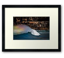 Offshore Winds Framed Print